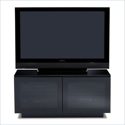 BDI Mirage TV Stand Cabinet in Black Finish