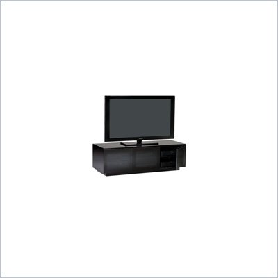 BDI Mirage LCD/Plasma Wood TV Stand in Black Finish