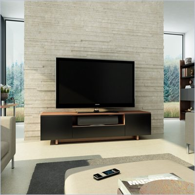 BDI Nora 8239 Contemporary TV Cabinet in Natural Walnut