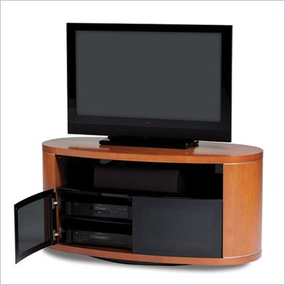 BDI Revo 52 Inch LCD/Plasma Wood TV Stand in Natural Stained Cherry