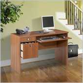 Nexera Essentials 48 Wood Computer Desk in Cappuccino