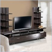 Nexera Eclipse 3 Piece Entertainment Center in Espresso