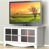 Nexera Pinnacle 49 TV Stand in White