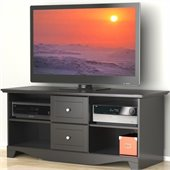 Nexera Pinnacle 56 Plasma/LCD TV Stand in Black Lacquer Finish