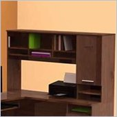 Nexera Aero Lite Reversible Hutch in Truffle