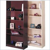 Nexera Wall Street 5 Shelf Bookcase in Natural Maple Finish