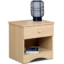 Nexera Alegria Nightstand in Natural Maple Best Price