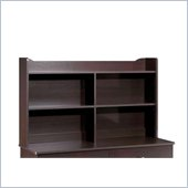 Nexera Pocono Bookcase Hutch in Espresso