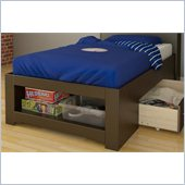 Nexera Dixon Twin Storage Bed in Espresso
