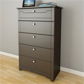 Nexera Dixon 5 Drawer Chest in Espresso