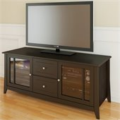 Nexera Elegance 58 TV Stand in Espresso