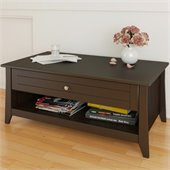 Nexera Elegance Coffee Table in Espresso