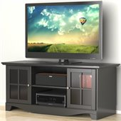 Nexera Pinnacle 56 TV Stand in Black