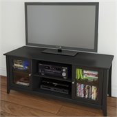 Nexera Tuxedo 58 TV Stand in Black