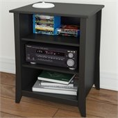 Nexera Tuxedo Stereo Cabinet in Black
