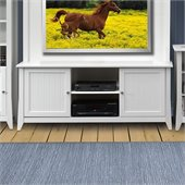 Nexera Vice Versa 58 TV Stand in White