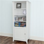 Nexera Vice Versa Curio Cabinet in White