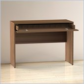 Nexera Alizee 1 Storage Drawer Desk in Walnut