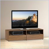 Nexera Alizee 60 TV Stand in Walnut