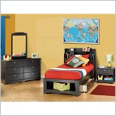 Nexera Dixon 5-Piece Bedroom Set in Espresso
