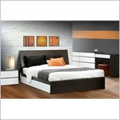 Nexera Allure 60 6-Piece Bedroom Set in Ebony