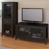Nexera Elegance 2-Piece 49 Entertainment Package in Espresso