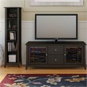 Nexera Elegance 2-Piece 58 Entertainment Package in Espresso