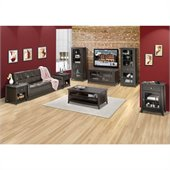 Nexera Elegance 7-Piece 49 Entertainment Set in Espresso