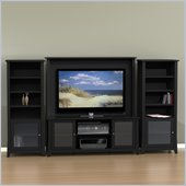 Nexera Tuxedo 4-Piece Entertainment Package in Black