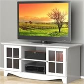 Nexera Pinnacle 56'' HEC TV Stand in White