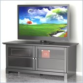 Nexera Pinnacle 56 Two Door TV Stand in Black