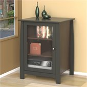 Nexera Profile One Door Audio Tower in Espresso