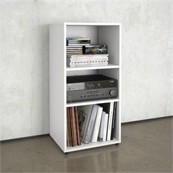 Nexera Blvd Open Storage Module in White