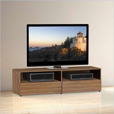 Nexera Alizee 60&quot; TV Stand in Walnut