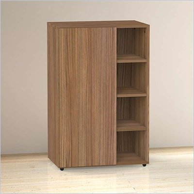 Nexera Alizee Storage Cabinet in Walnut