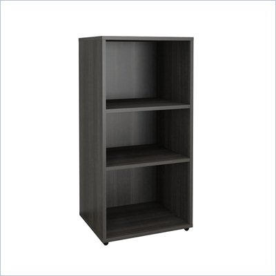 Nexera Allure Open Storage Module in &amp; Ebony