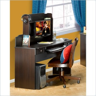 Nexera Dixon Convertible Student Desk in Espresso