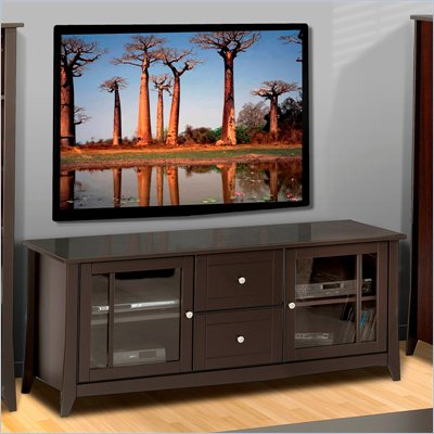 Nexera Elegance 58&quot; TV Stand in Espresso