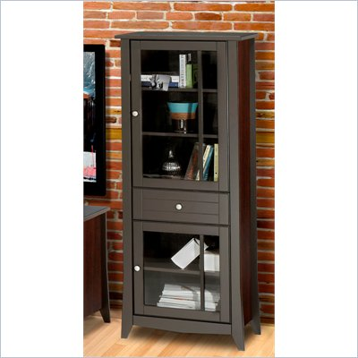 Nexera Elegance 60&quot; Curio Cabinet in Espresso