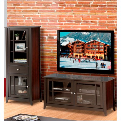 "Nexera Elegance 2-Piece 49"" Entertainment Package in Espresso"