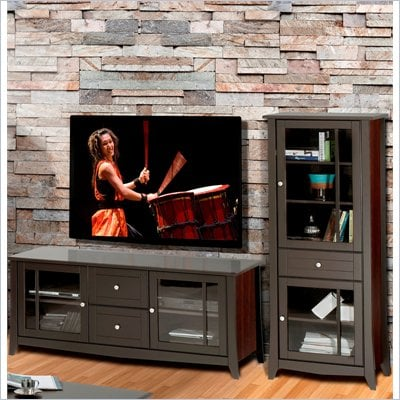 "Nexera Elegance 2-Piece 58"" Entertainment Package in Espresso"