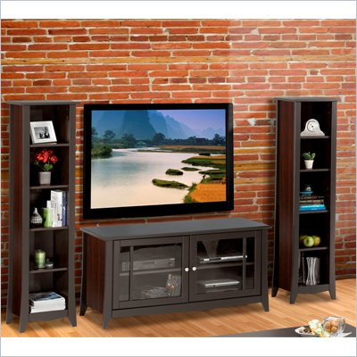 Nexera Elegance 3-Piece 58&quot; Entertainment Package in Espresso