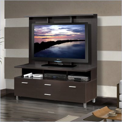 Nexera Element 56&quot; TV Stand with Hutch in Espresso