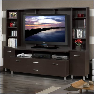 Nexera Element Entertainment Center in Espresso