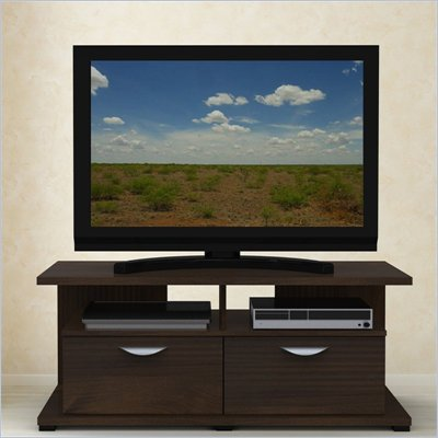 Nexera Jasper 48 Inch TV Stand Console in Truffle Finish