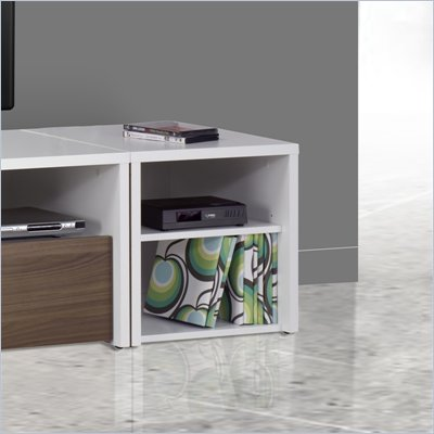 Nexera Liber-T Media Storage Unit in White