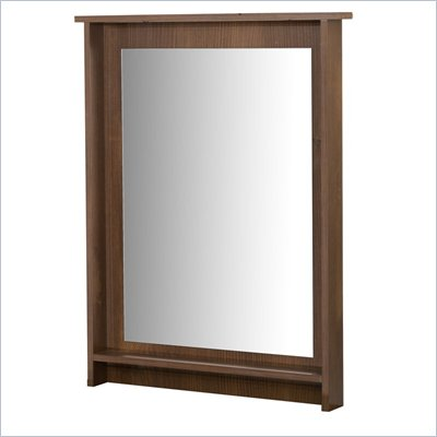 Nexera Nocce Mirror in Truffle Finish