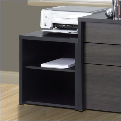 Nexera Sereni-T Media Storage Unit in Black