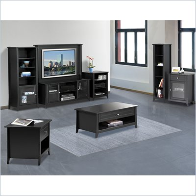 Nexera Tuxedo 7-Piece Entertainment Package in Black