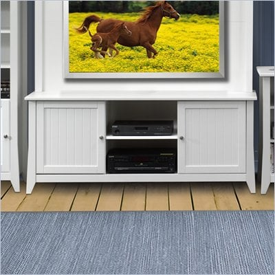 Nexera Vice Versa 58&quot; TV Stand in White